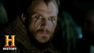 getlinkyoutube.com-Vikings: Floki and Athelstan's Religious Conflict (S3, E6) | History