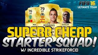 getlinkyoutube.com-FIFA 16 | SUPERB CHEAP STARTER HYBRID FOR UNDER 25k! (Ultimate Team Squad Builder)