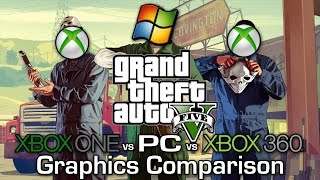 getlinkyoutube.com-GTA V - Xbox 360 vs Xbox One vs PC - Graphics Comparison