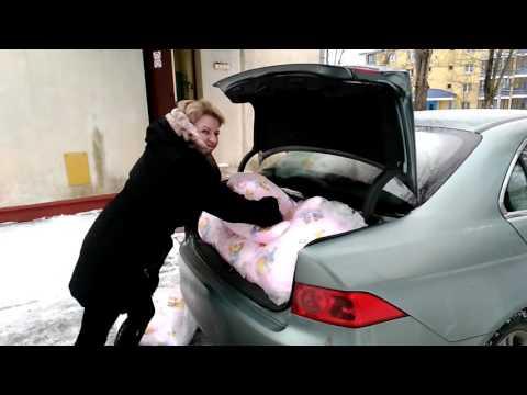 Хонда Аккорд и 36 подушек...