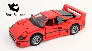 getlinkyoutube.com-Lego Creator 10248 Ferrari F40 - Lego Speed Build