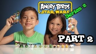 getlinkyoutube.com-Opening ANGRY BIRDS STAR WARS Series 2 Blind Bags - PART 2