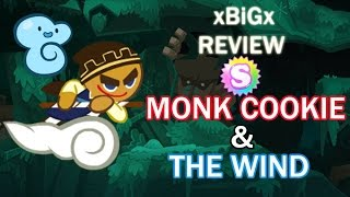 [Mini-Review] MonkCookie+TheWind : นักบวช+Pet ลม [Kakao Cookierun] | xBiGx
