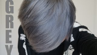 getlinkyoutube.com-How to Dye Your Hair Silver/Grey: THE SAFE WAY