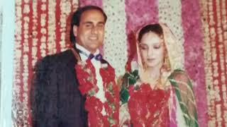 Shahid Rafi Firdaus Rafi wedding video 1989.