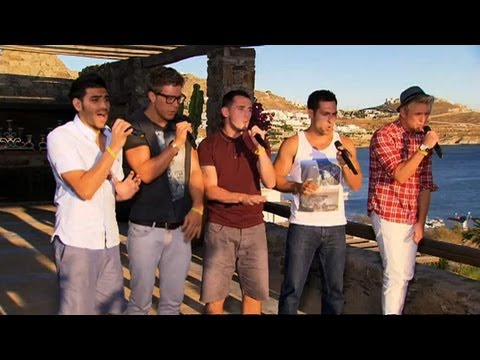 The Keys' Judges' Houses audition - The X Factor 2011 Judges' Houses (Full Version)