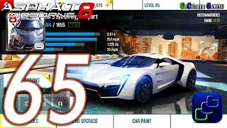 getlinkyoutube.com-Asphalt 8: Airborne Walkthrough - Part 65 - Career CHINA: Season 8 W Motors Lykan HyperSport