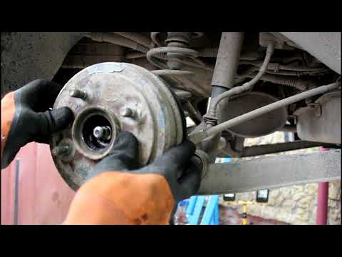 Регулировка ручного тормоза на Daewoo Matiz Дэу Матиз 0,8 2011 года