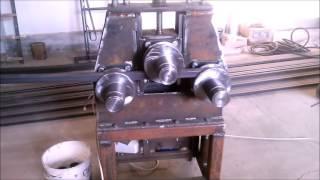 getlinkyoutube.com-Homemade bending machine