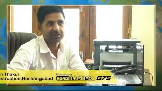 Mahindra RoadMaster G75 | Construction Equipment | Customer testimonial