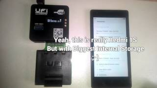 getlinkyoutube.com-How To Replace Emmc Xiaomi Redmi 1S to 32GB using UFiBOX
