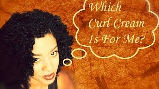 Find The Best  Curl Defining Cream For YOUR Hair Texture!