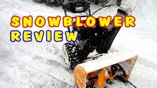 """SNOWBLOWER REVIEW - Cub Cadet 3 Stage 357cc - 28"""" Cut"""