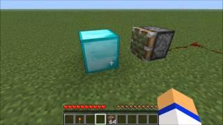 getlinkyoutube.com-Minecraft: How to make a diamond generator!