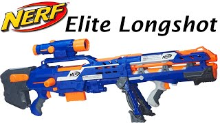 getlinkyoutube.com-Nerf N-Strike Elite Longshot CS-6 Unboxing and Review