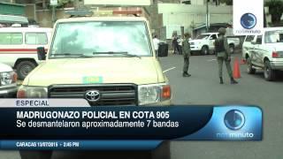 getlinkyoutube.com-Madrugonazo policial en la Cota 905