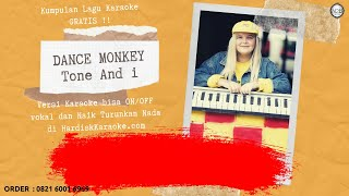 Karaoke tanpa vokal | DANCE MONKEY - TONE AND I