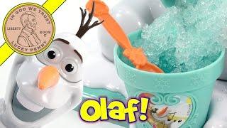 getlinkyoutube.com-Disney Frozen Olaf Snow Cone Maker