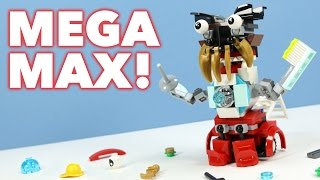 getlinkyoutube.com-LEGO Mixels MEGA MAX from Series 8 Pyyratz Medix & MCFD Combined
