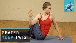getlinkyoutube.com-Seated Yoga Twists to Neutralize your Spine
