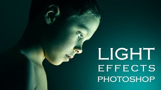 getlinkyoutube.com-Photoshop Tutorial | How to get special light Photo Effects on Portraits
