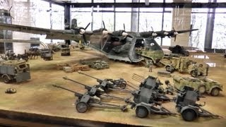 getlinkyoutube.com-タミヤ春の見学会9 スケールミリタリーモデル ジオラマ Tamiya visit society scale military model diorama