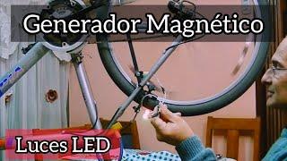 getlinkyoutube.com-Luz por Induccion Magnetica ( con una bicicleta)--Luz de indução magnética (com uma bicicleta)