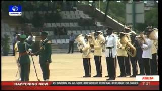 getlinkyoutube.com-Nigeria 2015 President Muhammadu Buhari Swearing-in Parade -- Part 1 --29/05/15