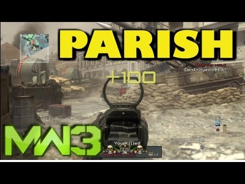 Découverte de la map Parish | NEW MW3 DLC
