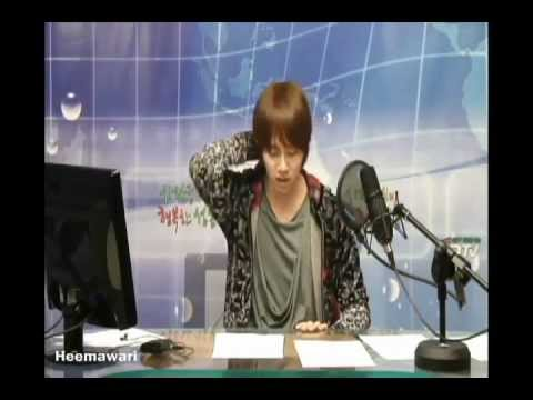 120406 Sungdong Cafe - Heechul dancing to Good-bye Baby