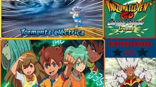 getlinkyoutube.com-Inazuma Eleven GO: Chrono Stones Trueno! - Ep.21 | MUCHOS MIXIMAX! (VS Zanark Domain) (Esp)