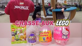 getlinkyoutube.com-[PÂQUES] Chasse aux Lego et Oeufs Surprises - Easter Lego & unboxing Surprise Eggs