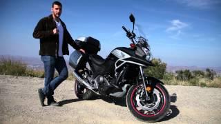 getlinkyoutube.com-2015 Honda NC700X Adventure Bike Review