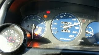 getlinkyoutube.com-Honda Civic B16 Turbo 10.000 RPM  at 1 bar - 14 psi (50-200,0-110 km)