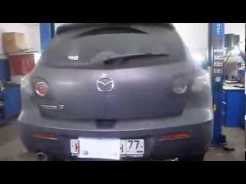 Сажевый фильтр Мазда. Удаление и программное отключение сажевого фильтра Mazda 3.