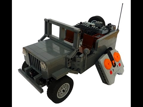Lego Technic Willy's MB