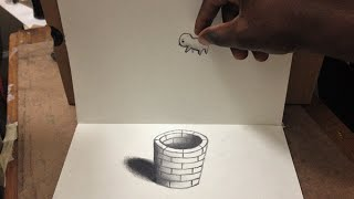 getlinkyoutube.com-Cool 3D Trick Art - Anamorphic Illusion