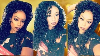 My Fav Half Wig So Far!!! | Outre Amber 26""