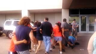 getlinkyoutube.com-Red raiders vs Utep fight