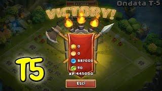 getlinkyoutube.com-ONDATA T5 VICTORY!!! - Castle Clash ITA
