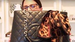getlinkyoutube.com-Bag of the Month Tag | Chanel GST