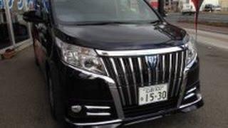 getlinkyoutube.com-TOYOTA 新型コンパクトミニバン『エスクァイア』HYBRID スタイリングパッケージ仕様車!
