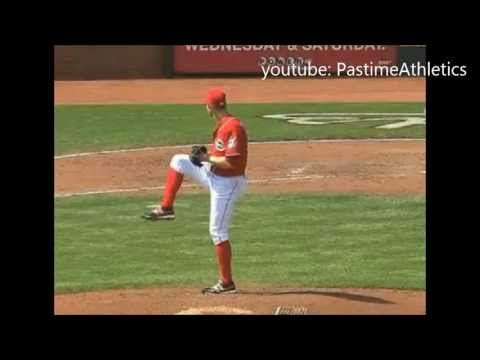 Tony Cingrani Pitching Slow Motion - Cincinnati Reds Top Prospect MLB