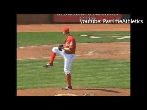 Tony Cingrani Pitching Slow Motion - Cincinnati Reds Top Prospect MLB