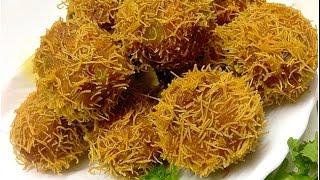 getlinkyoutube.com-Semiya Cutlet /Vegetable Bird Nest / Kilikood Malabar Iftar dish
