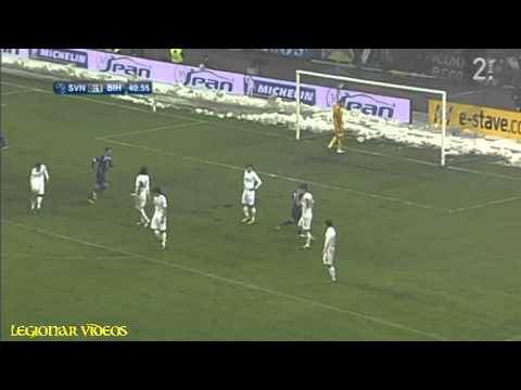 FRIENDLY: Slovenia 0-3 Bosnia-Herzegovina (Slovenija - BiH) - All Goals 6-2-2013