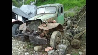 getlinkyoutube.com-1950 DODGE POWER WAGON RESTORATION IN COLOMBIA