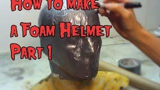 getlinkyoutube.com-How To Make a Foam Helmet,Tutorial Part 1