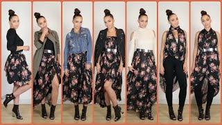 getlinkyoutube.com-30 Fall Fashion Outfits with 1 Skirt & Fall Fashion Outfit Ideas