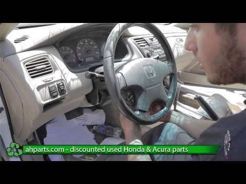 How to replace/change an Air Bag Honda Accord REPLACE DIY
